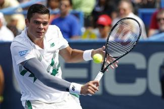 テニス=第2シードのラオニッチが決勝へ、シティ・オープン